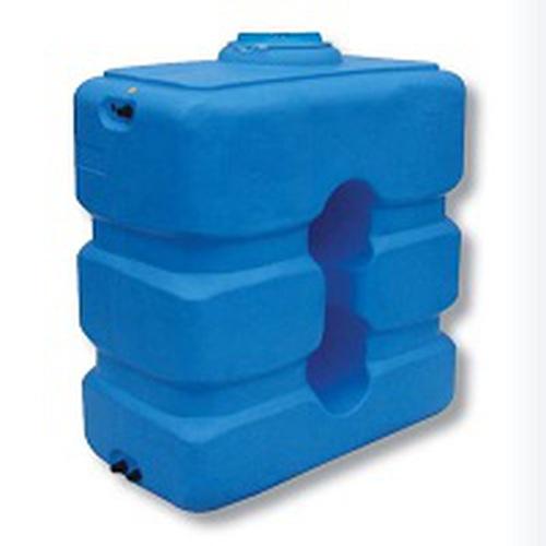 Бак для воды ATP-1000 синий с поплавком (Миасс)