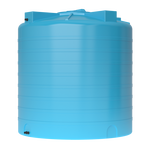 Бак для воды ATV-2000 синий с поплавком (Миасс)