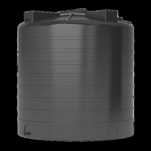 Бак для воды ATV-2000 черный с поплавком (Миасс)
