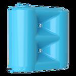 Бак для воды Combi синий  W-1500 с поплавком (Миасс)