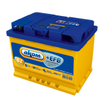 Аккумулятор АКОМ +EFB 6СТ-62 п.п.