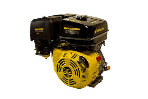 Бензиновый Двигатель CHAMPION 13лс, 389см3, G390HK шпонка