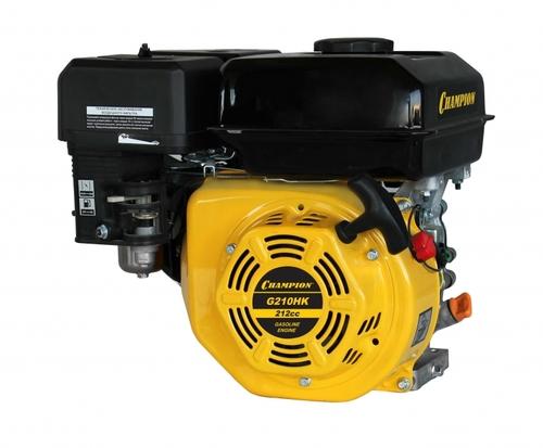 Бензиновый Двигатель CHAMPION 7лс , 208 см3, G210HKшпонка