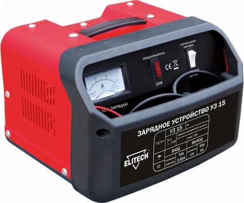 Зарядное устройство ELITECH УЗ-15