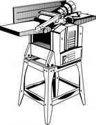 Станок рейсмусно-фуговальный стационарный ЗУБР МАСТЕР СРФ-254-1600С