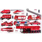 Игровой набор Welly Пожарная служба (99610-20B)